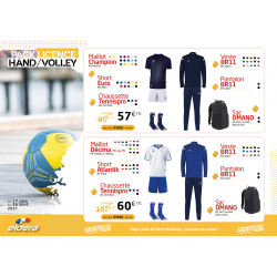 PACK LICENCE HAND/VOLLEY 3