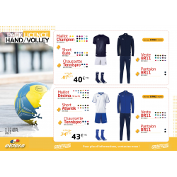 PACK LICENCE HAND/VOLLEY 2