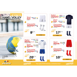 PACK LICENCE HAND/VOLLEY 1