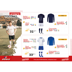 PACK LICENCE FOOT 2