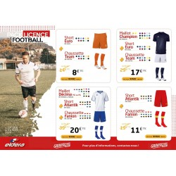 PACK LICENCE FOOT 1