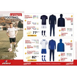 PACK LICENCE FOOT 4