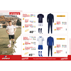 PACK LICENCE FOOT 3
